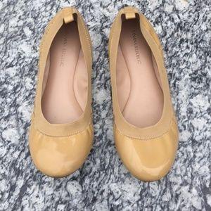 Banana Republic Abby Ballet Flats Mustard Yellow 8